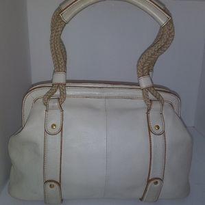 Sigrid Olsen Creamy White Leather Purse